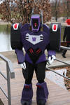 Shockwave TFA-Cosplay by Silver-lion