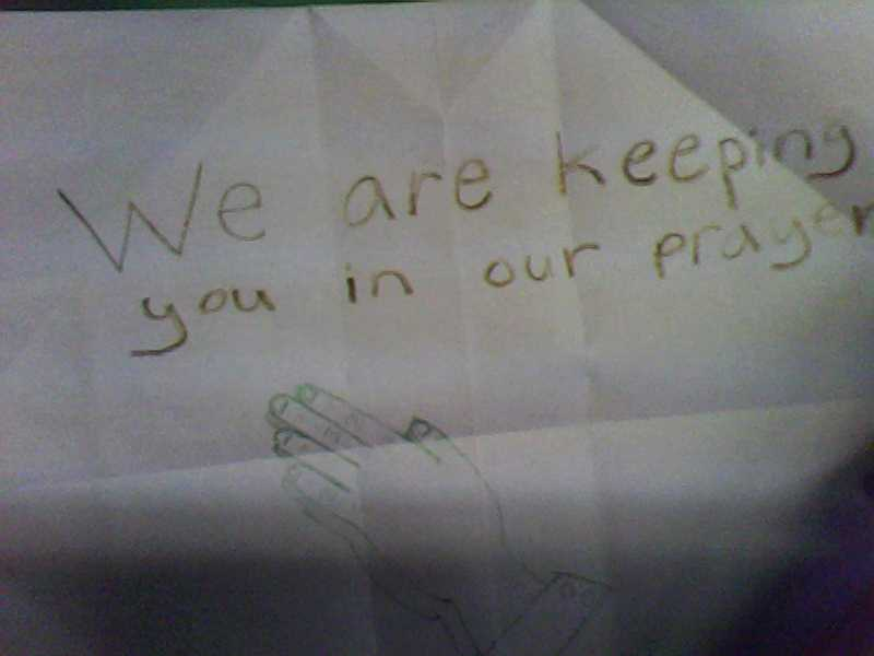 A letter to Sandy Hook elementary by Rockonbrad