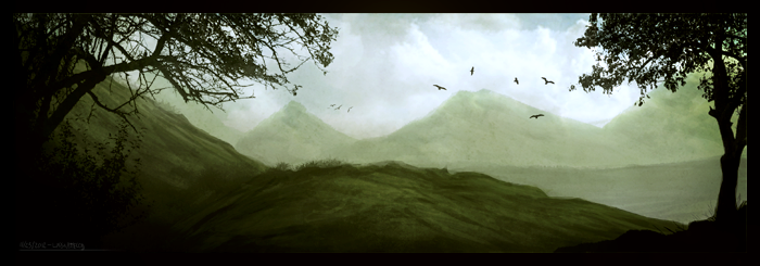 Green Hills by ehecod