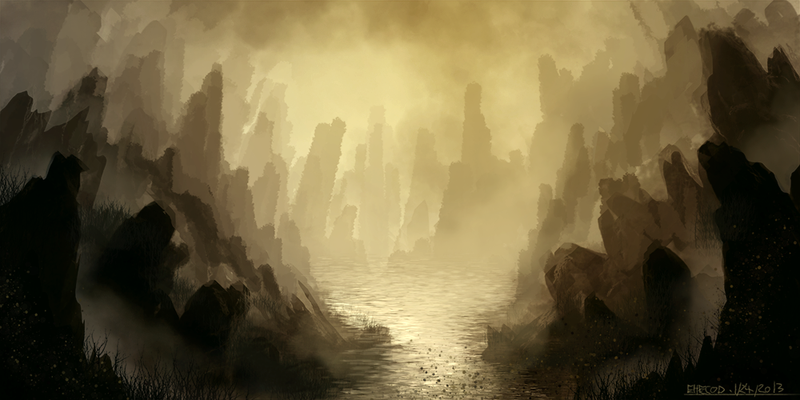 Uncharted Sight: Boulders by ehecod