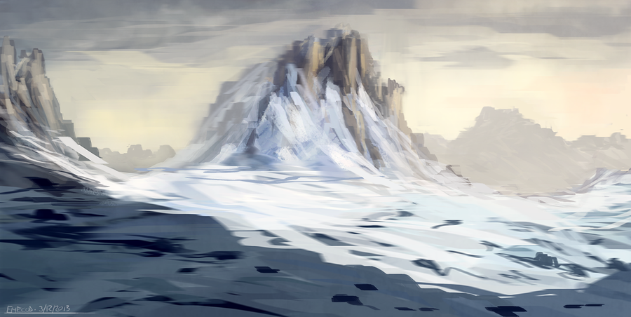 Snowy Mountains by ehecod on DeviantArt