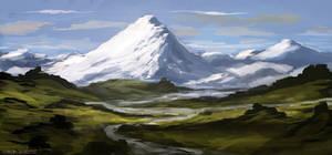 Snowy Peaks (Speedie) by ehecod