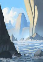 rocks in water by ehecod