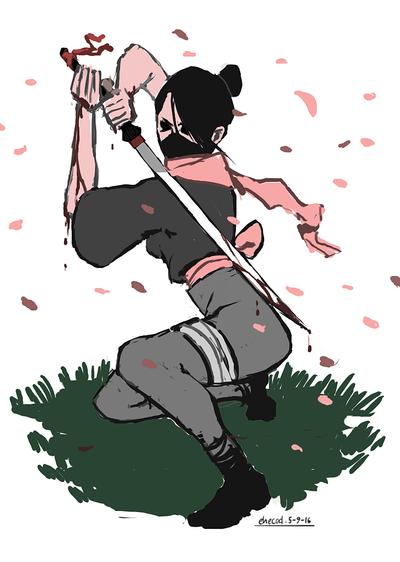sakura zansatsu by ehecod