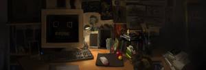 huhwn's desk