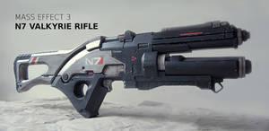 Mass Effect 3 Valkyrie Rifle Prop