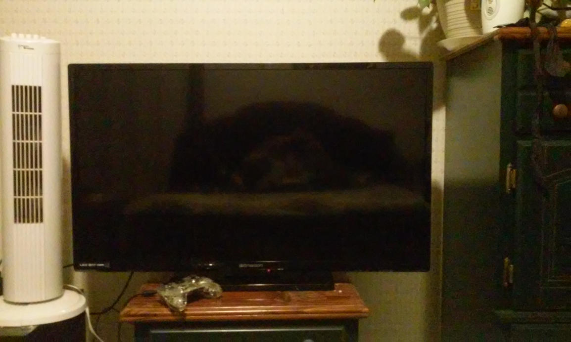 My new tv by CeroWest