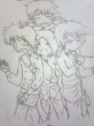 After School Ninjas by SoonToBeMangaka
