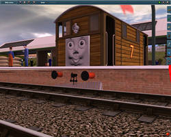 Toby the Station house by GWshunter101