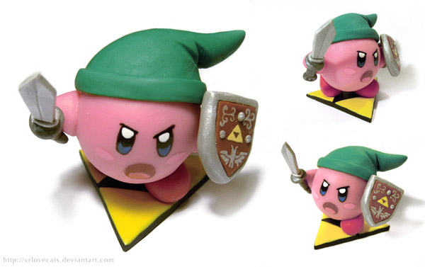 Kirby Link by vrlovecats