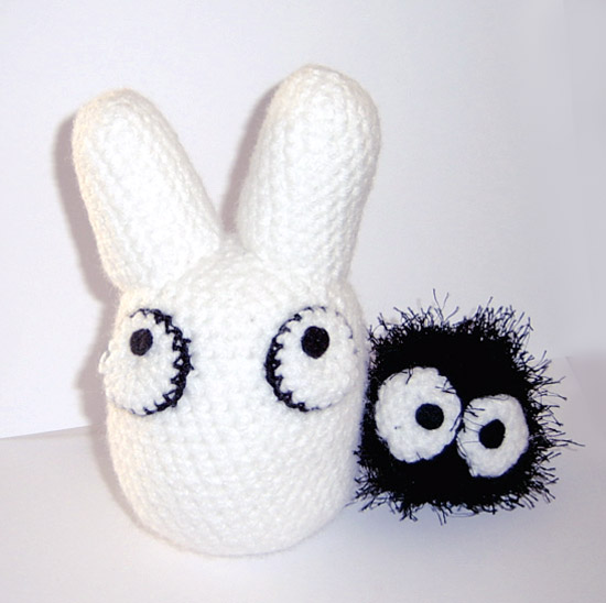 White Totoro Amigurumi by vrlovecats on DeviantArt