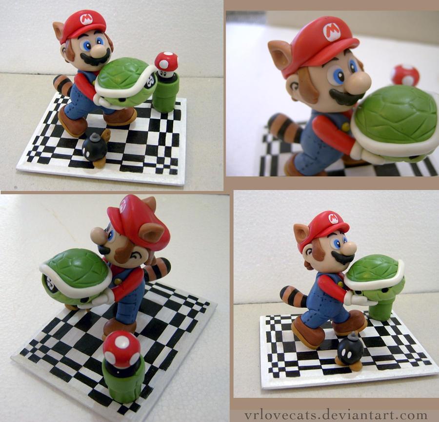 Super Mario Bros 3 figure by vrlovecats