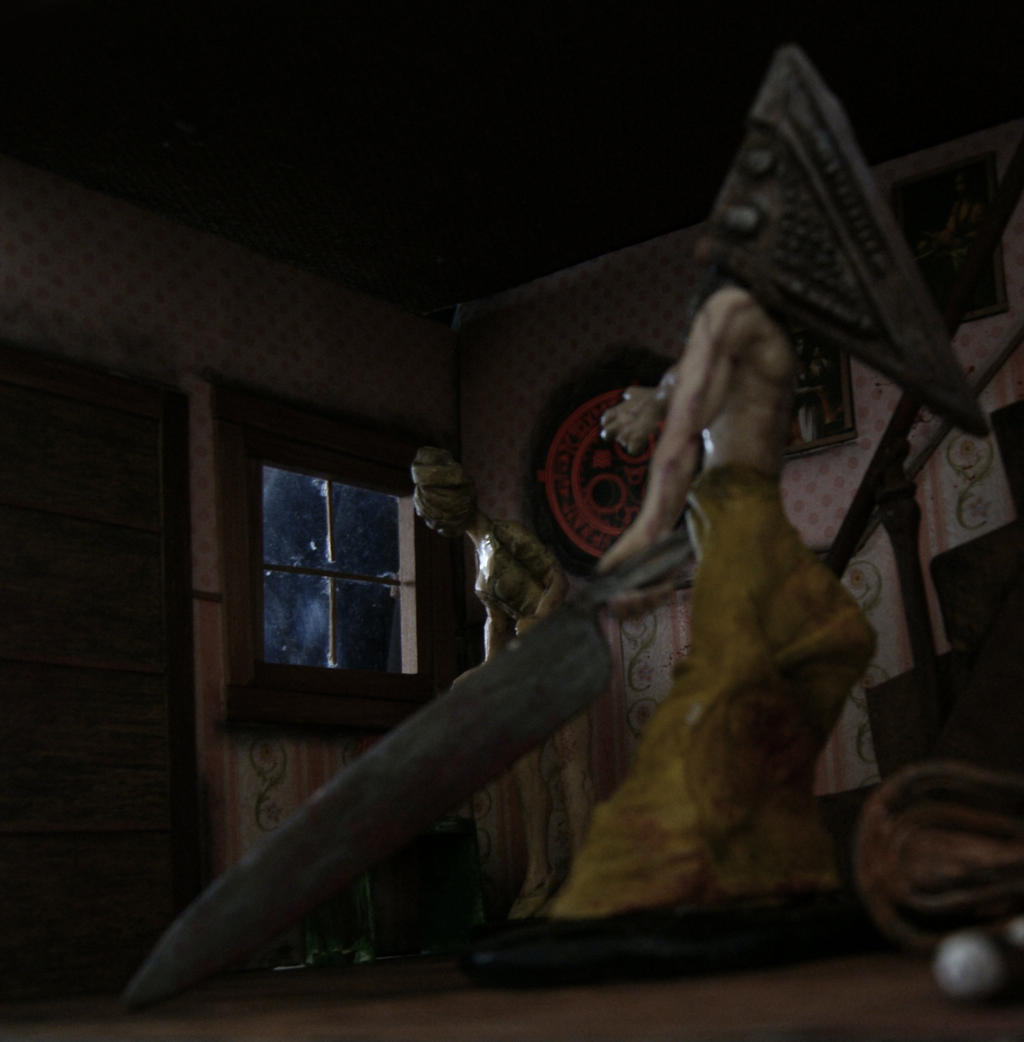 Silent Hill diorama Photoshoot I by vrlovecats