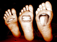 the famous feet by Lacrimatorium