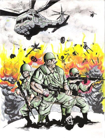 vietnam war soldiers by zmode82 on DeviantArt