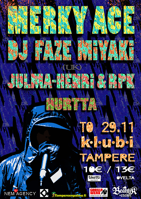 Merky Ace  DJ Faze Miyaki by slugvision