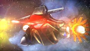 My pod racer by Blodgrass