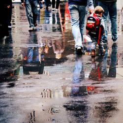 Rain City by Elasias