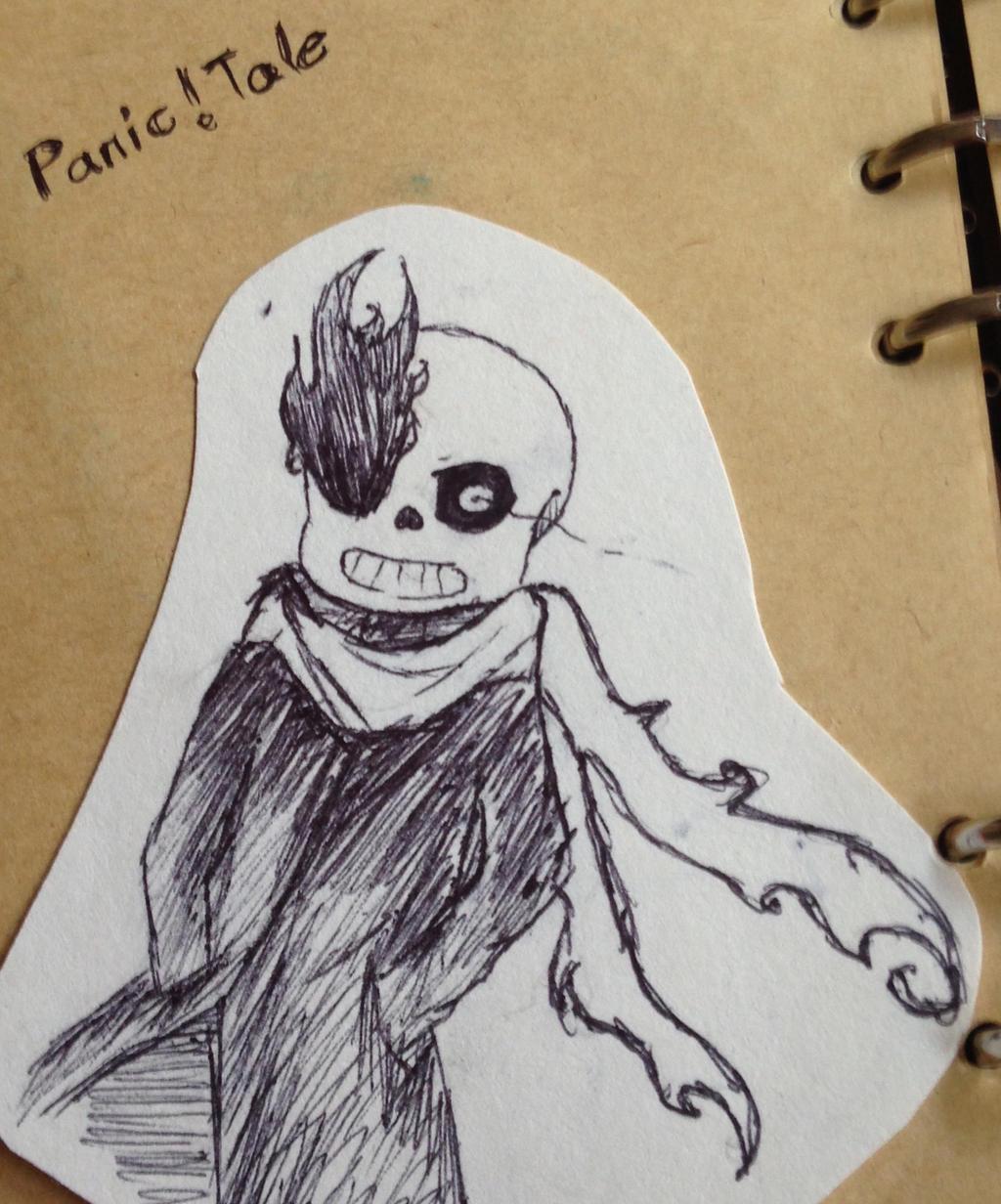 My own AU. Panic!tale sans!! by briethebee