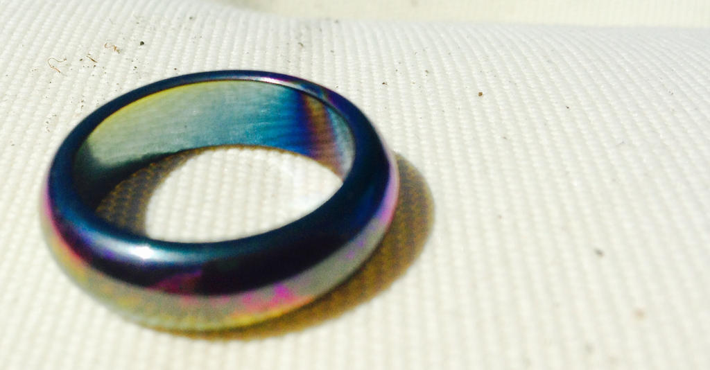 Beautiful rainbow ring!! by briethebee