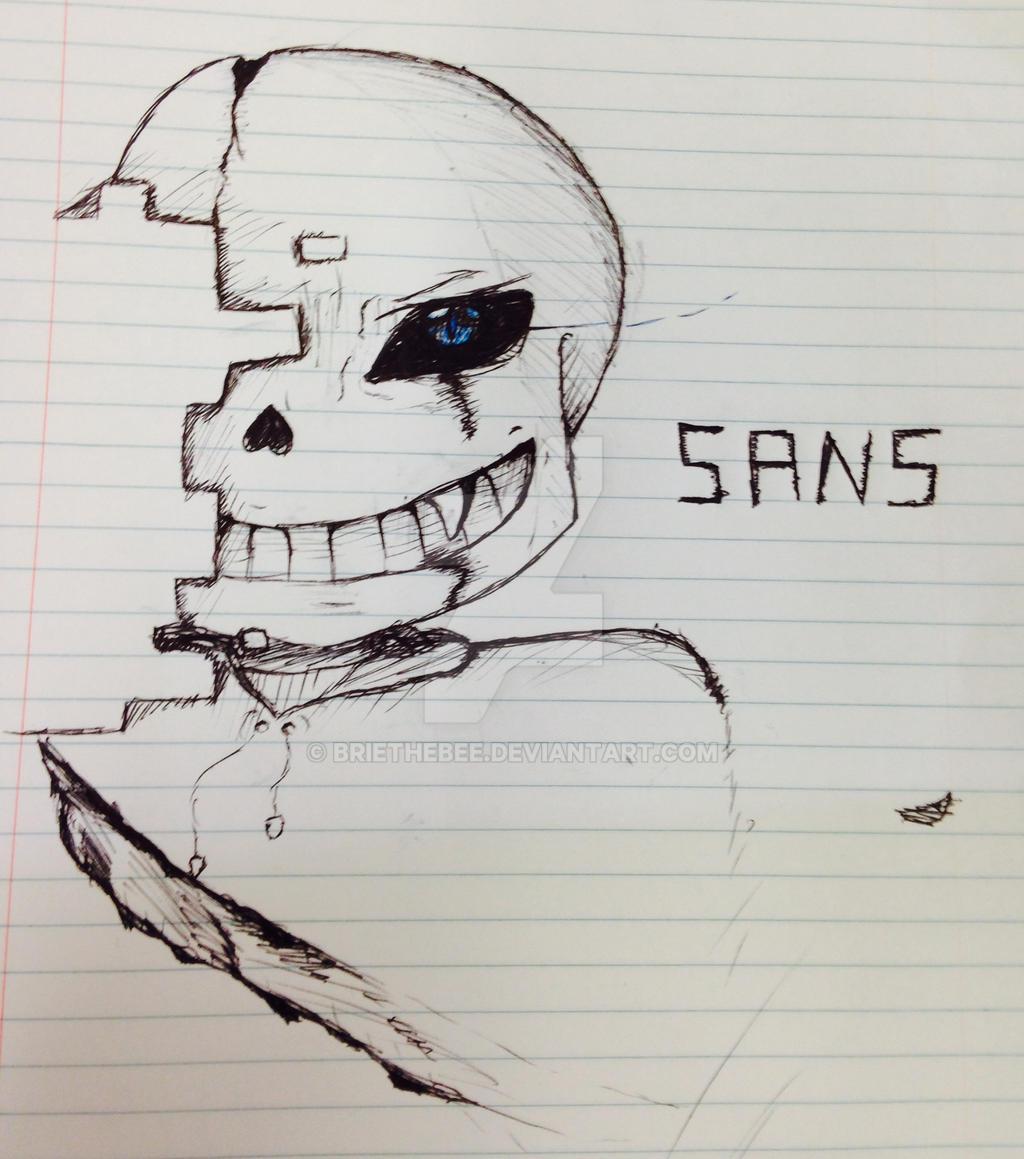 Sans!!!!! by briethebee