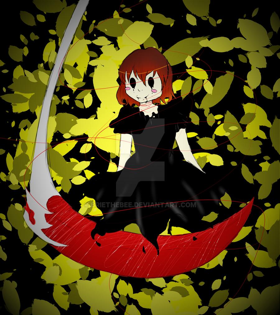 Reaper!Tale CHARA by briethebee