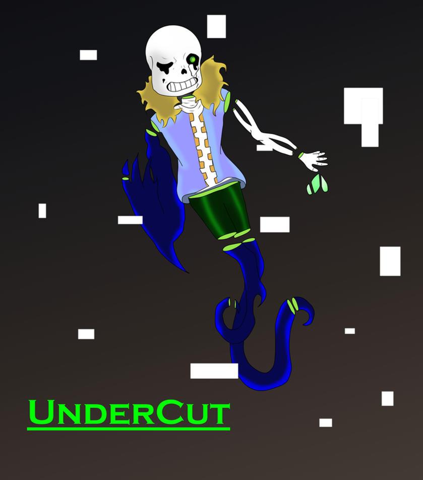 UnderCut Sans AU by briethebee