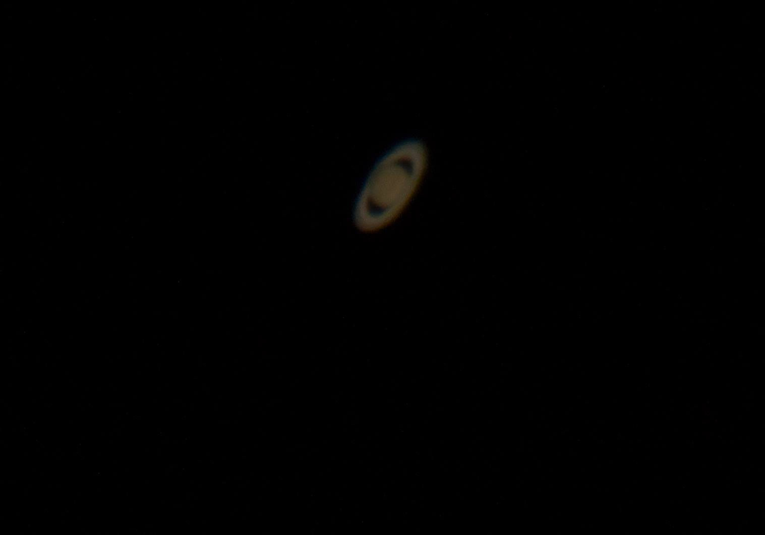 how to see saturn with a telescope