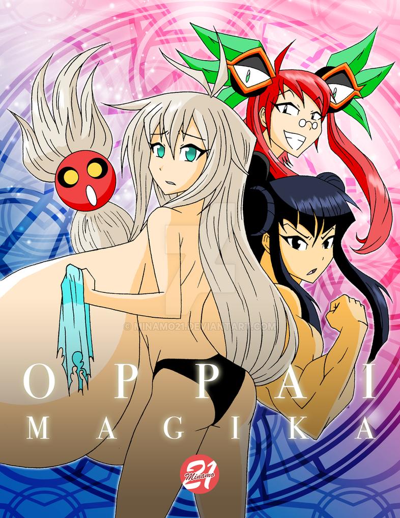 Oppai Magika art by Minamo21