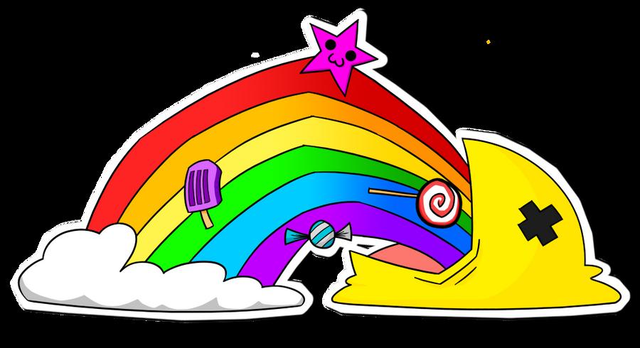 i puke rainbows by cameron rutten on deviantart