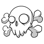 Skull doodle (clean)