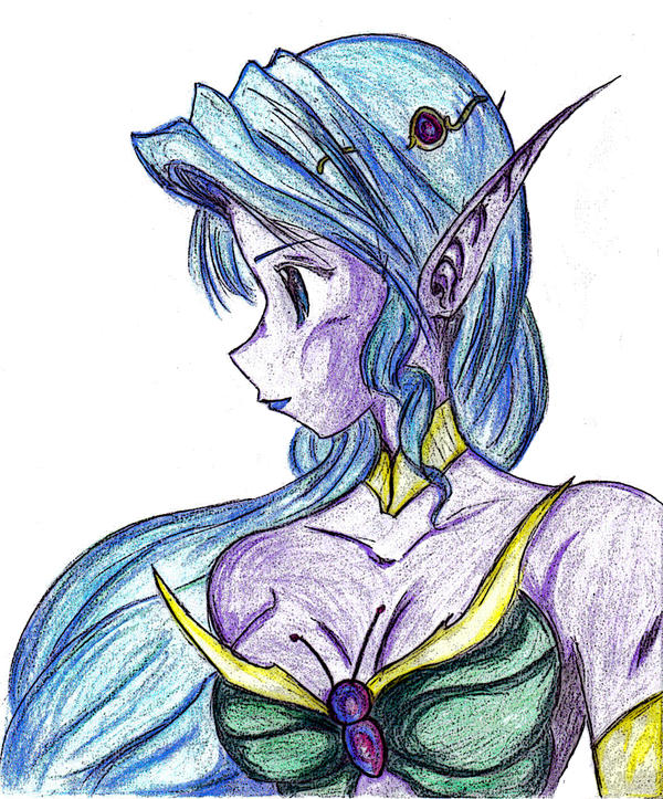 Titania -Queen of Night Elves by Zeromaru-x