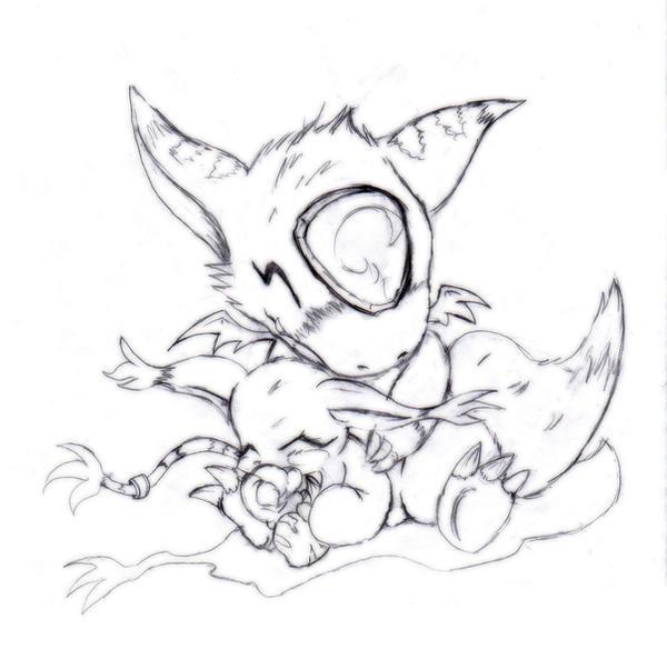 DORU x Tail by Zeromaru-x