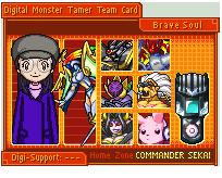 Shining Girl Tamer card v.2 by Zeromaru-x