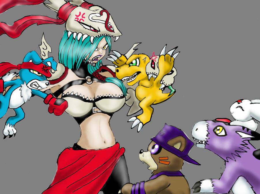 Digimon Day 2012 by Zeromaru-x