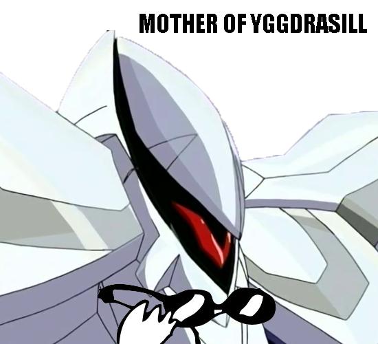 Mother of Yggdrasill by Zeromaru-x