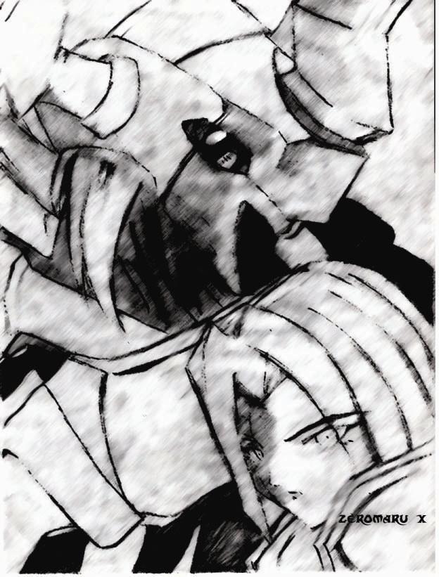 Fenrir and GaiOumon by Zeromaru-x