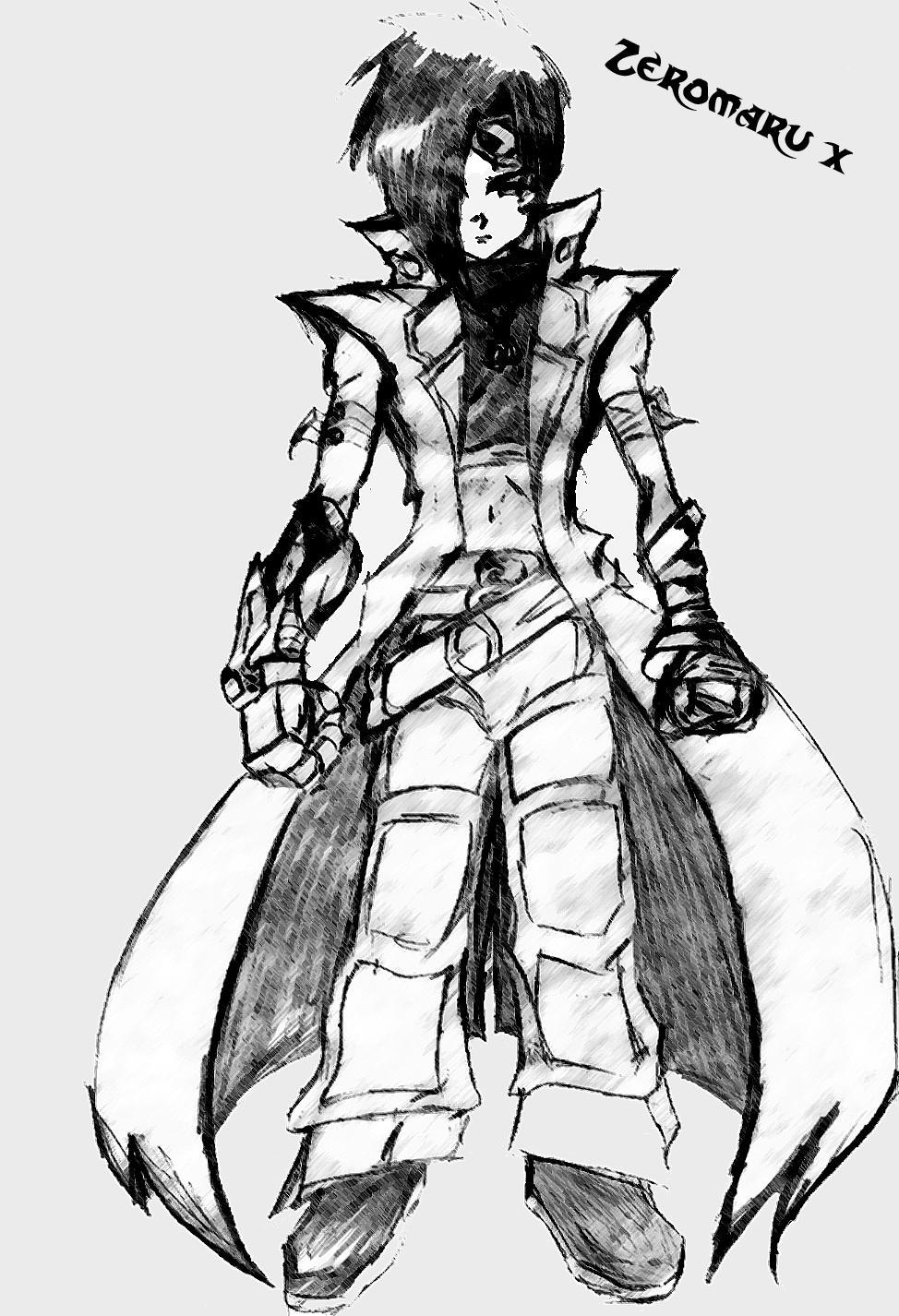 Akira -Musashi costume by Zeromaru-x