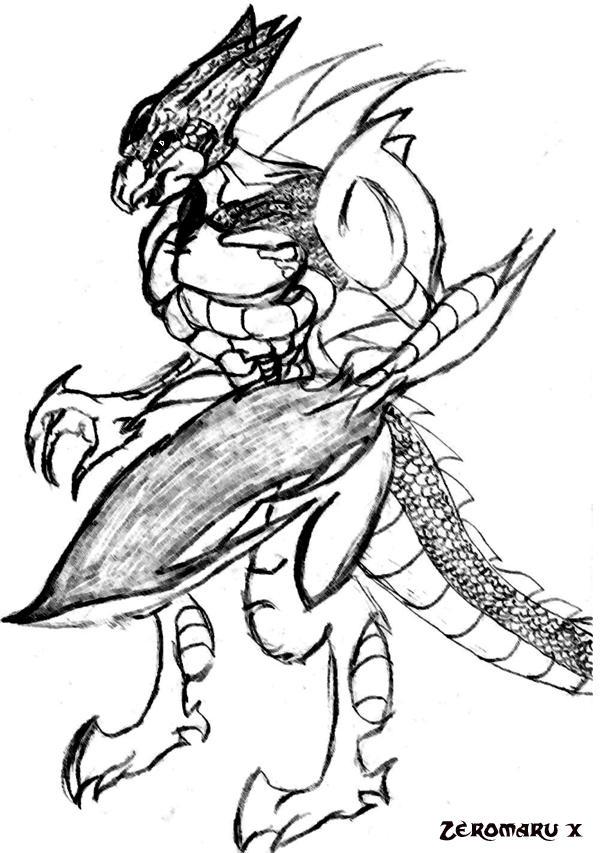 Alligator Monster by Zeromaru-x