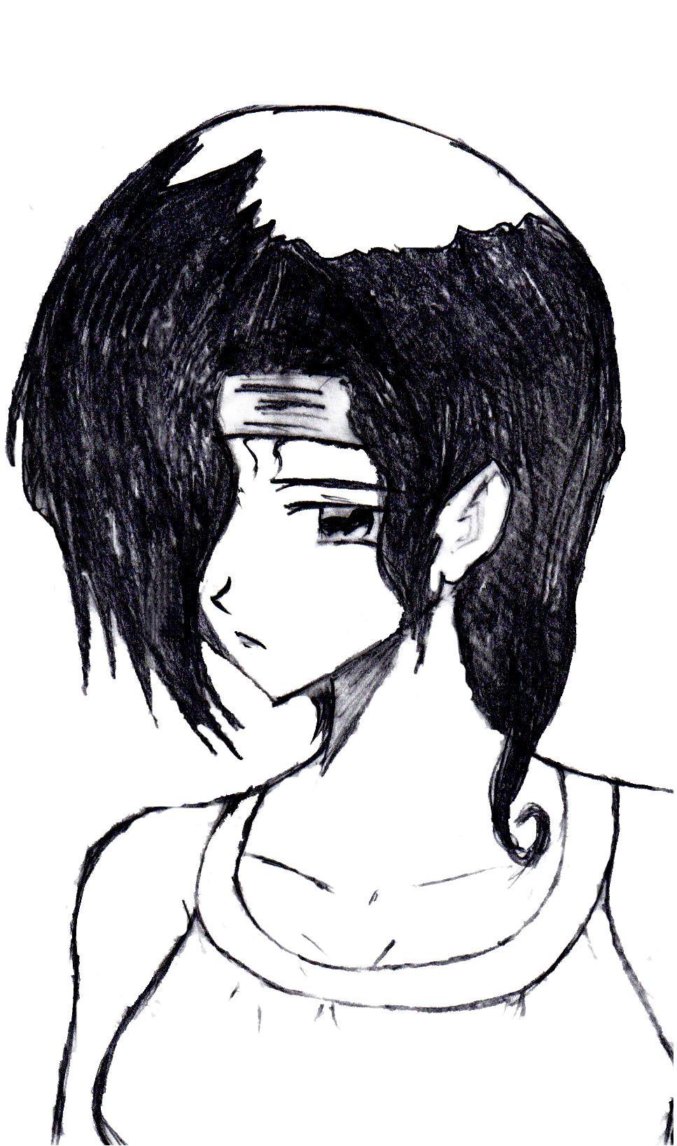 Mia -pencil by Zeromaru-x