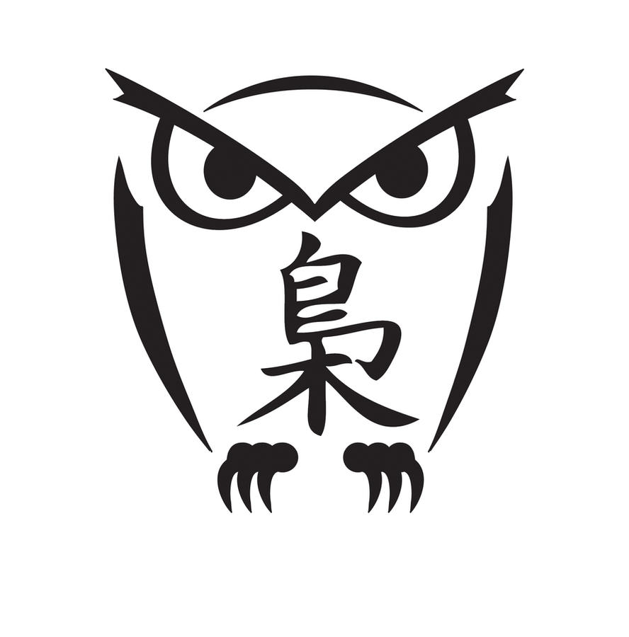 Tribal Owl Tattoo Design Picture 2