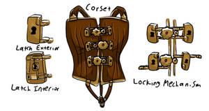 Locking Gear Corset Prototype