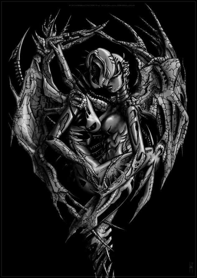 демонические картинки близнецов первый подарок, шейх