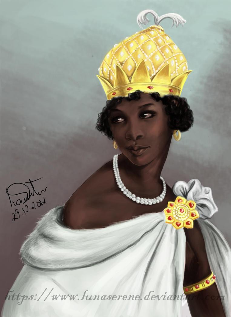 ana nzinga queen of ndongo Queen anna nzinga (c 1583 – december 17, 1663), also known as njinga mbande or ana de sousa nzinga mbande , was a 17th-century queen (muchino a muhatu) of the ndongo and matamba kingdoms of the mbundu people in angola.