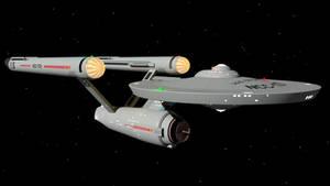 USS Enterprise NCC-1701 TOS