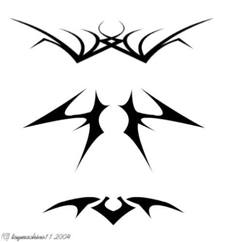 Tribal Tattoos Sheet2 by toymachine11