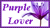 Purple Lover Stamp by Ibilicious