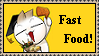 Fast Food Onionhead Stamp by Ibilicious