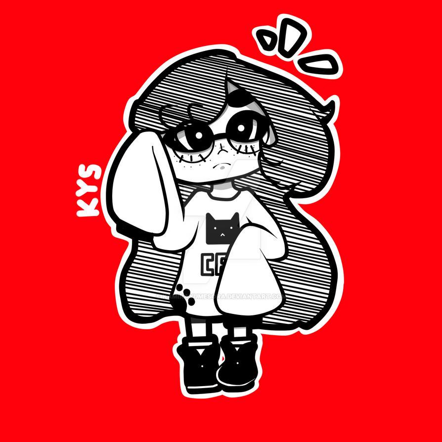 Glasses girl by KamiraYumeSora