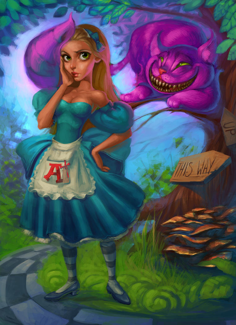 Alice in Wonderland by AlisZombie